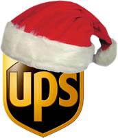 UPS kerst logo