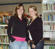 Tamara Stevens en Jorieke Zuurmond